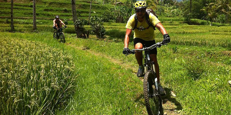 Ubud vacation Bali mountain biking